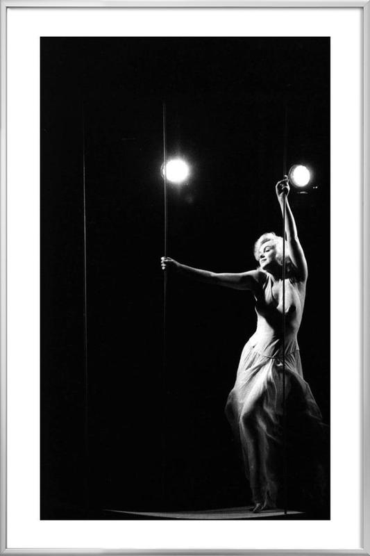 Marilyn Monroe in Let's Make Love, 1960 Poster in Aluminium Frame