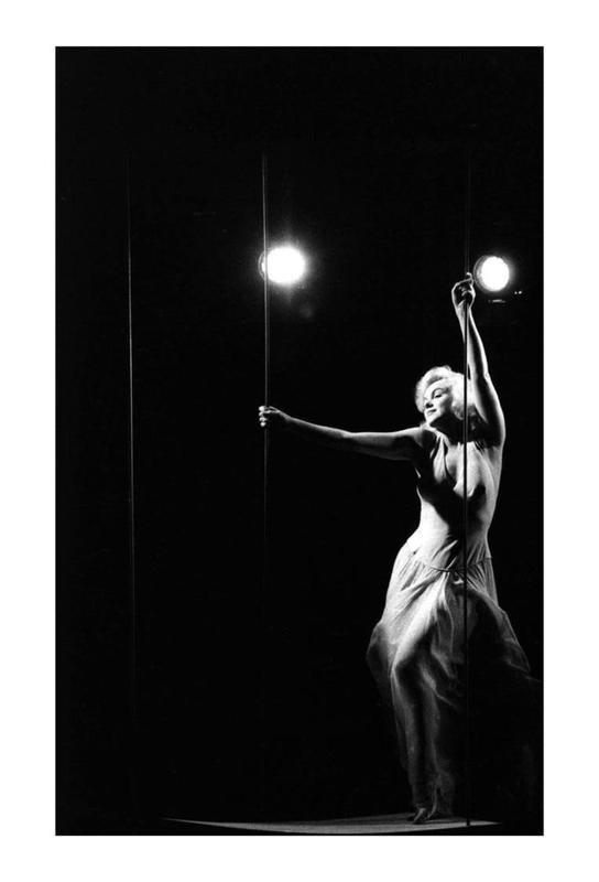 Marilyn Monroe in Let's Make Love, 1960 Aluminium Print