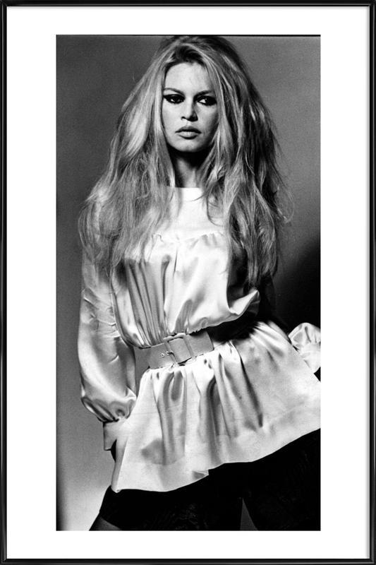 Brigitte Bardot II -Bild mit Kunststoffrahmen