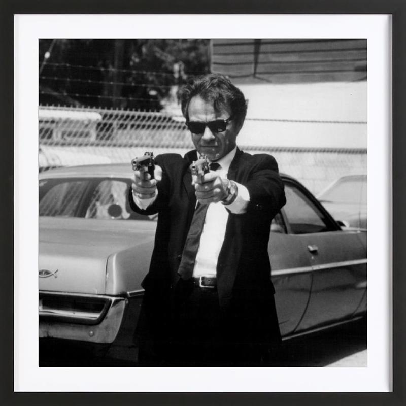 Harvey Keitel in Reservoir Dogs Framed Print
