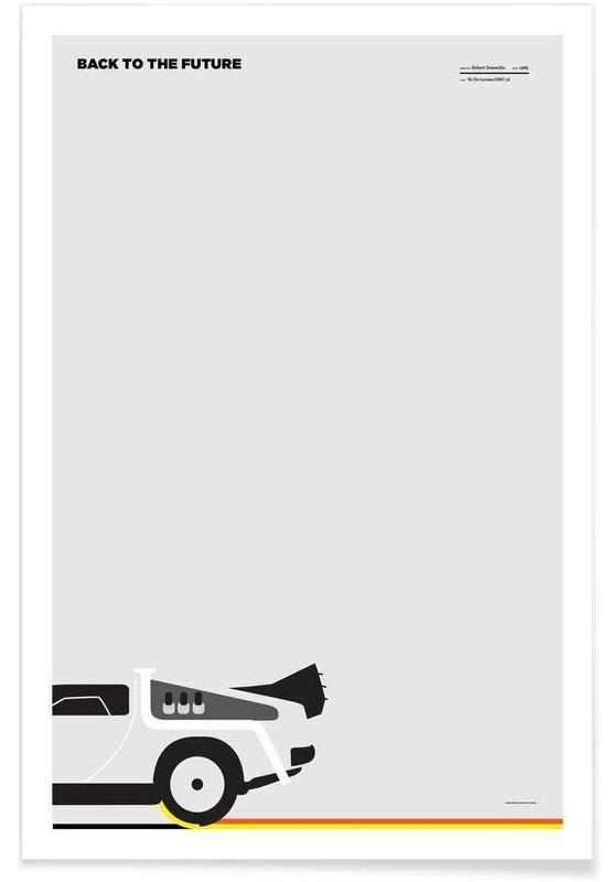 Films, Retour vers le futur minimaliste affiche
