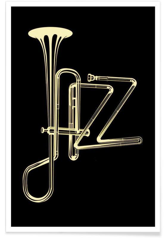 Jazz, jazz poster affiche