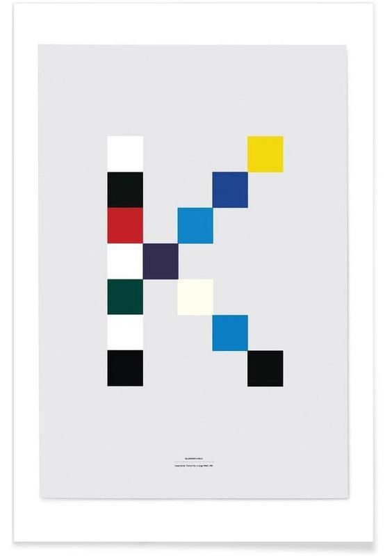 Alphabet et lettres, Artists 1 affiche