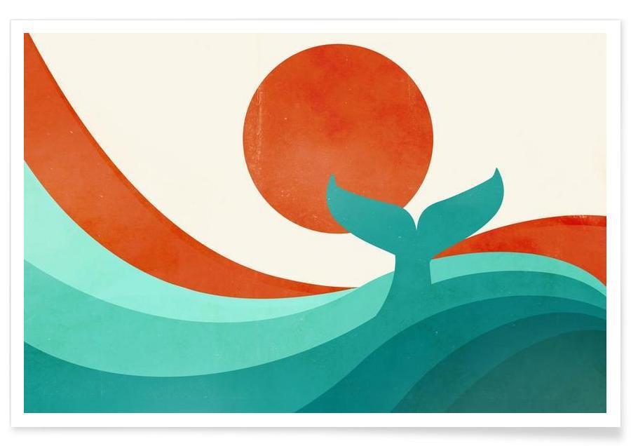 Baleines, Wave Day affiche