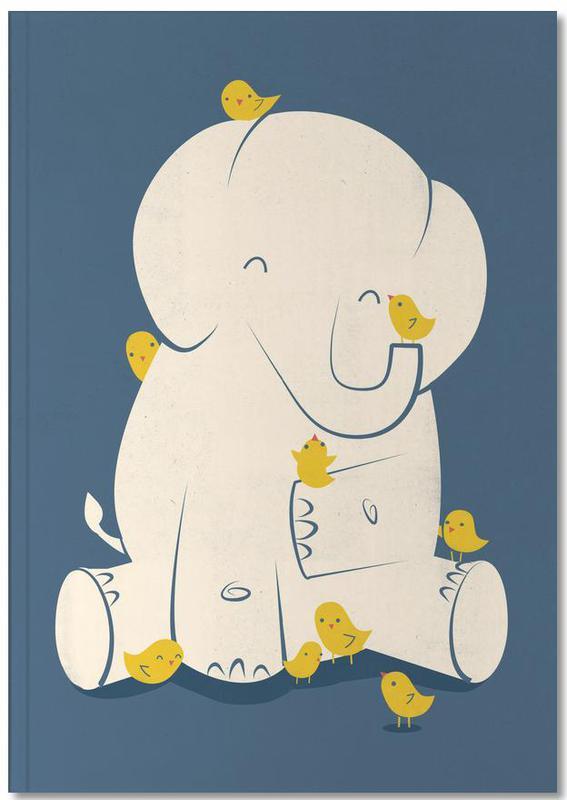 Elephants, Nursery & Art for Kids, Big Mama Notebook