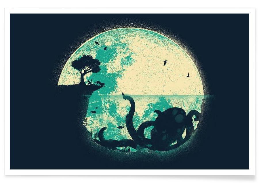 Blæksprutter, The Big One Plakat