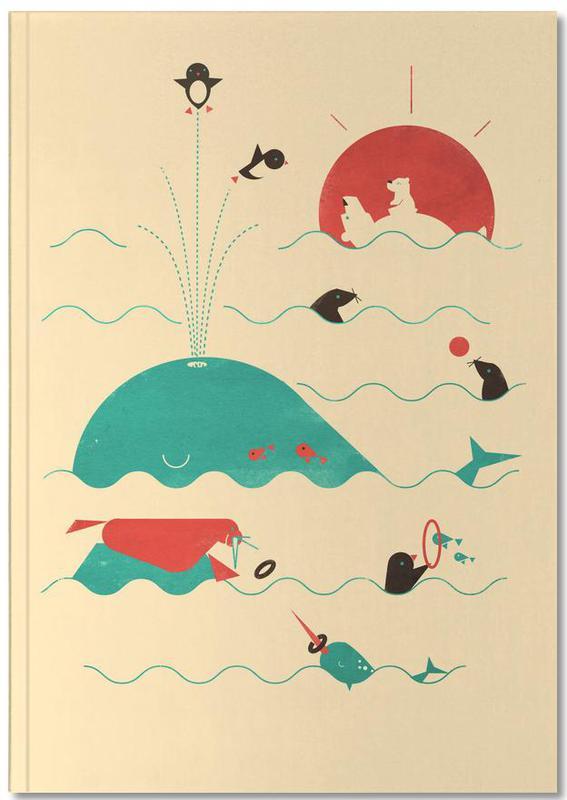 Nursery & Art for Kids, Arctic Playground Notebook