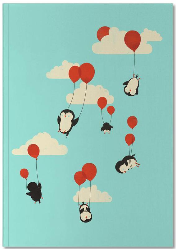 Nursery & Art for Kids, Penguins, We Fly Notebook