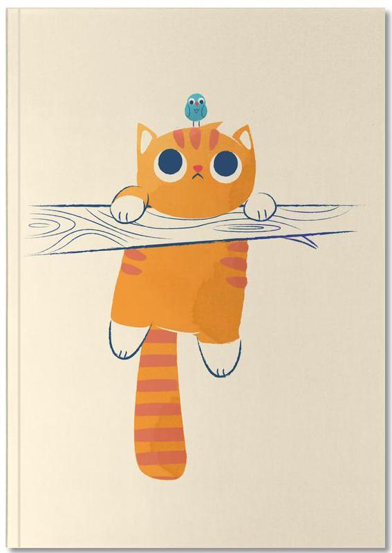 Cats, Nursery & Art for Kids, Fat Cat Little Bird Notebook