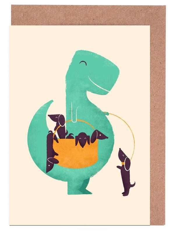 Trex Weiner Greeting Card Set