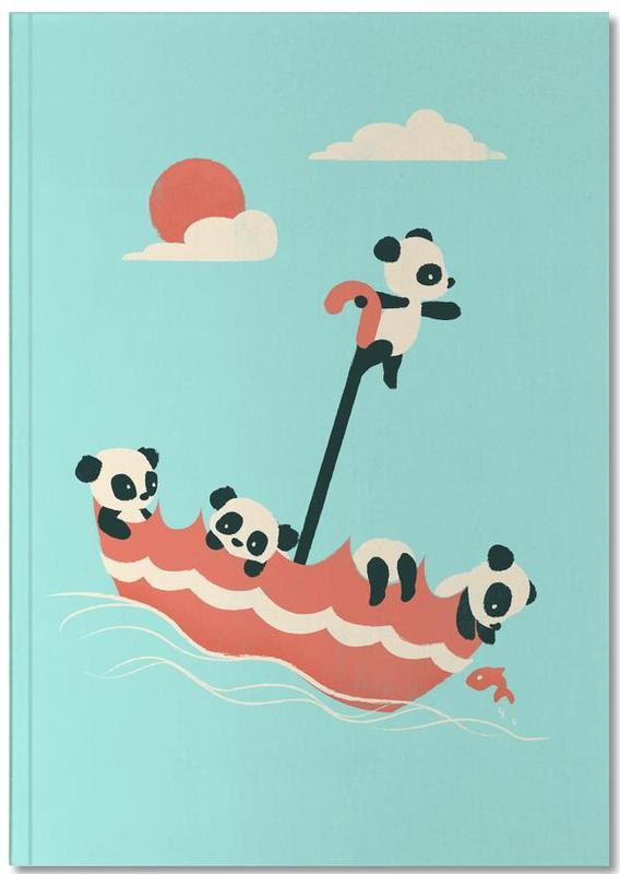 Kunst voor kinderen, Panda's, Float On Notebook