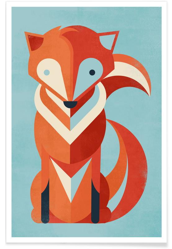 Foxes, Fox Poster