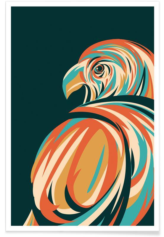 Adelaars, Hawk poster