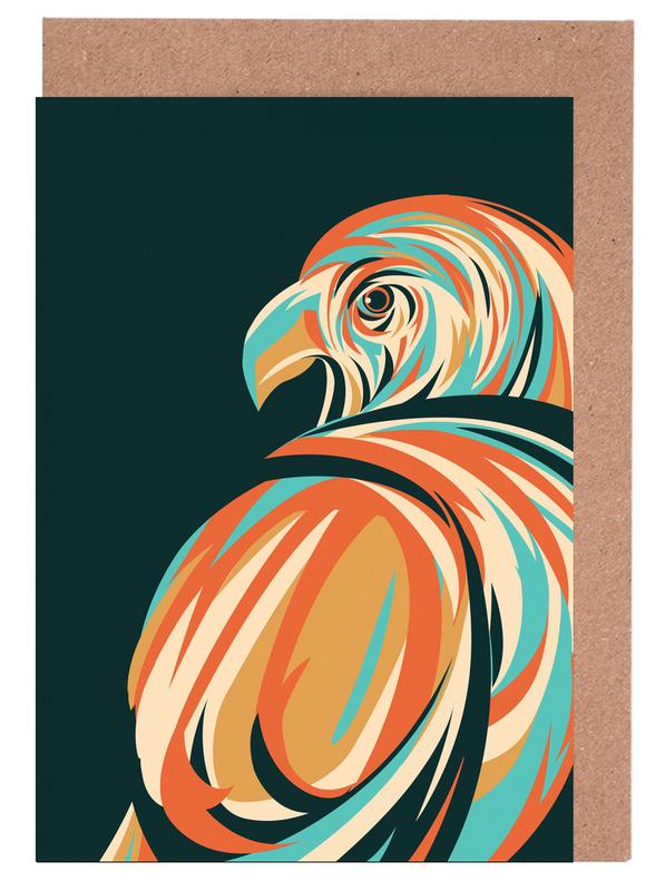 Aigles, Hawk cartes de vœux
