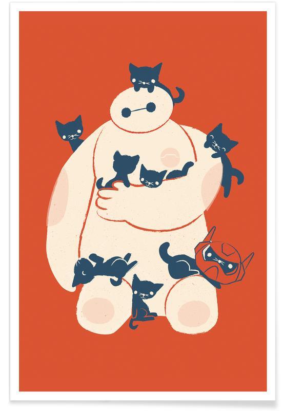 Katter, Barnkammar & konst för barn, Filmer, Kittens Poster