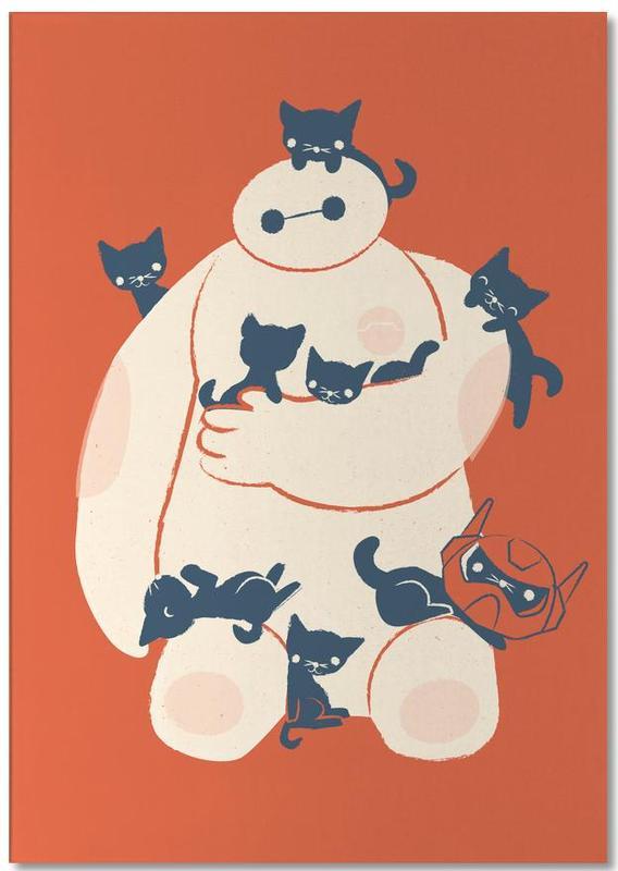 Kinderzimmer & Kunst für Kinder, Filme, Katzen, Kittens -Notizblock