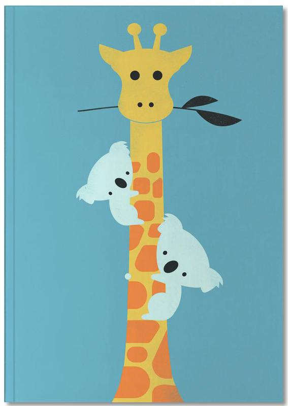 Koalas, Girafes, Art pour enfants, I'll Be Your Tree Notebook