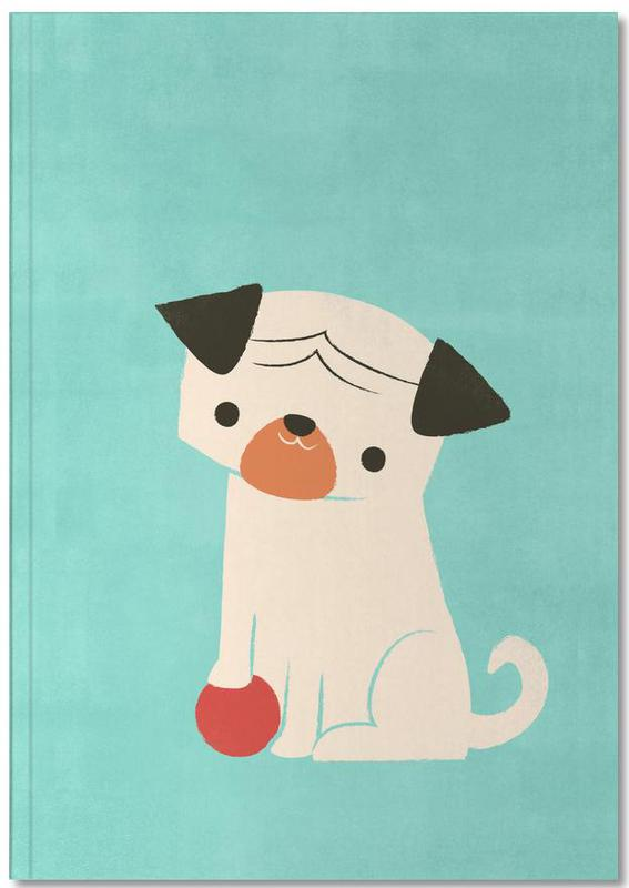 Dogs, Nursery & Art for Kids, My Red Ball Notebook
