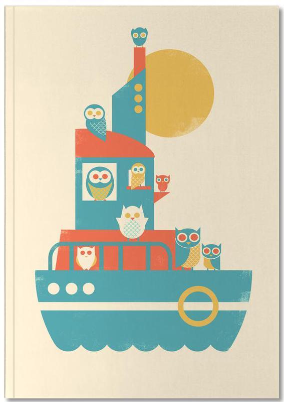 Nursery & Art for Kids, Owl A Board Notebook