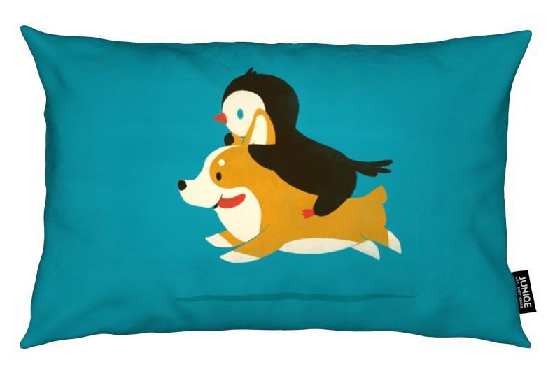 Nursery & Art for Kids, Penguins, Dogs, Like The Wind