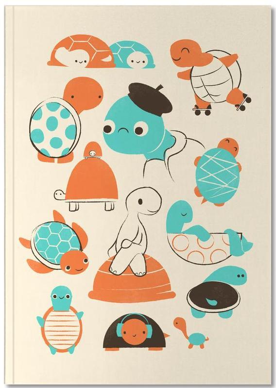 Nursery & Art for Kids, Turtles Notebook