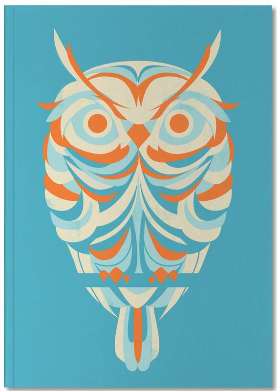 Owls, Red Eyes Notebook