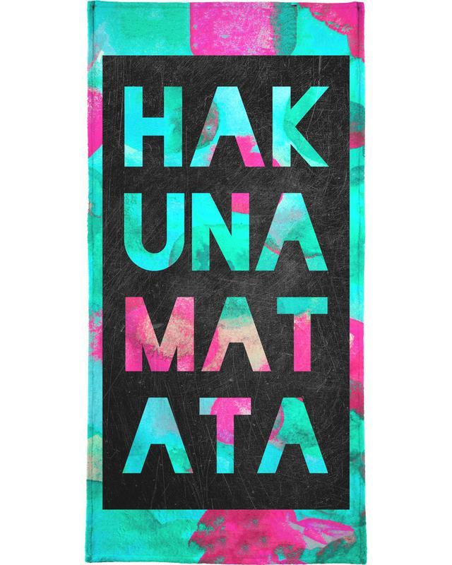 , Hakuna Matata 2 Beach Towel