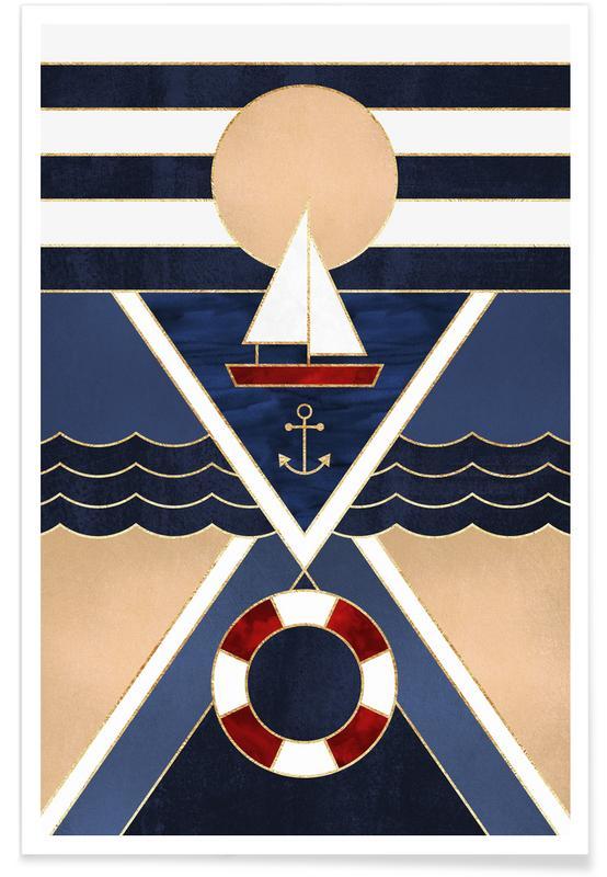Sailboat -Poster