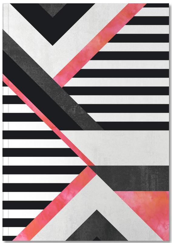 Stripe Combination Notebook