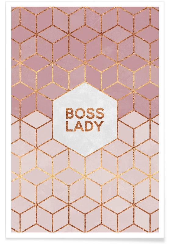 Boss Lady -Poster