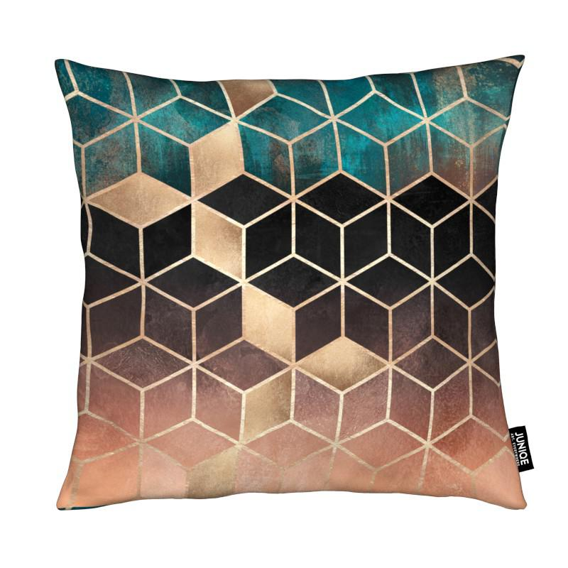 Ombre Dream Cubes coussin