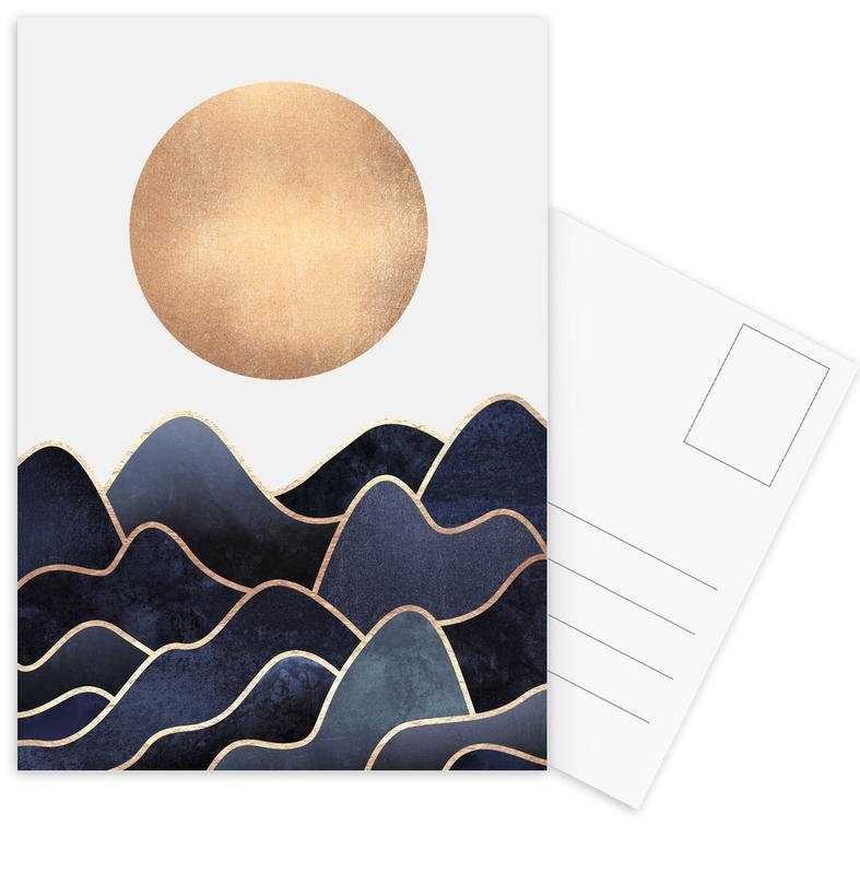 Waves -Postkartenset