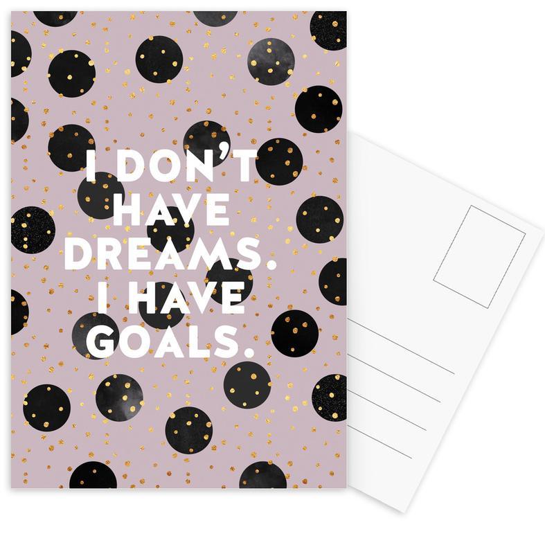 Goals -Postkartenset