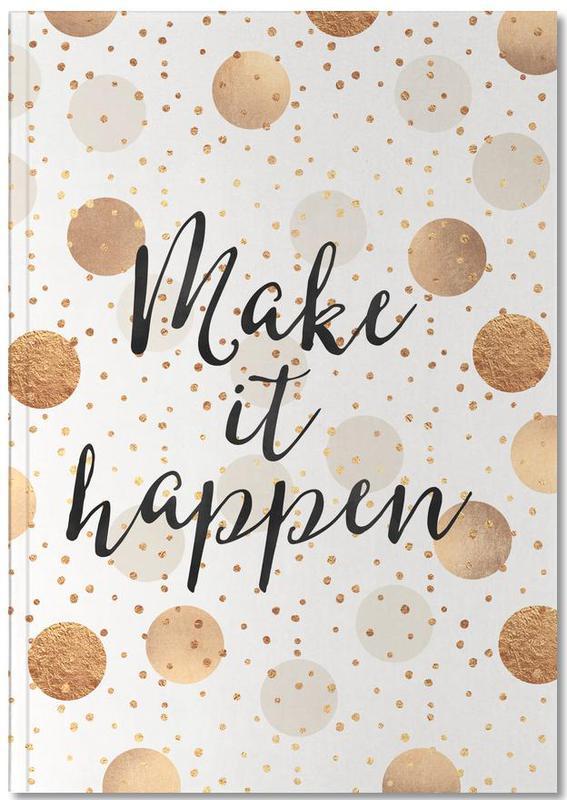 Make it Happen Notebook