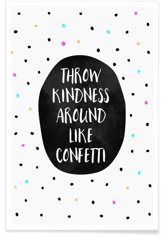 Throw Kindness Poster
