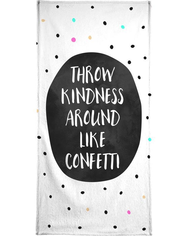 Throw Kindness Beach Towel