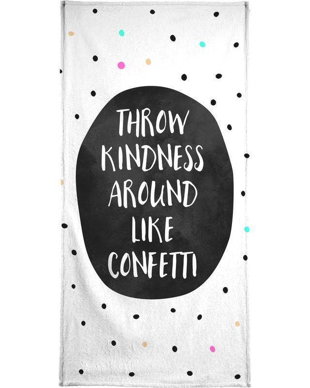 Throw Kindness Bath Towel