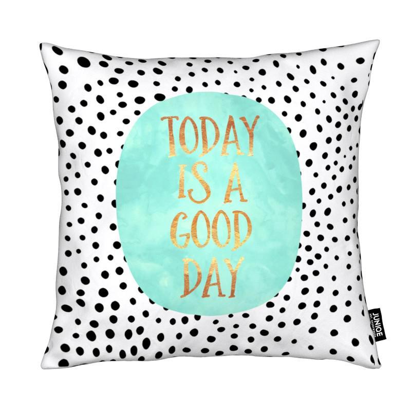 Motivation, Citations et slogans, Today Is a Good Day coussin