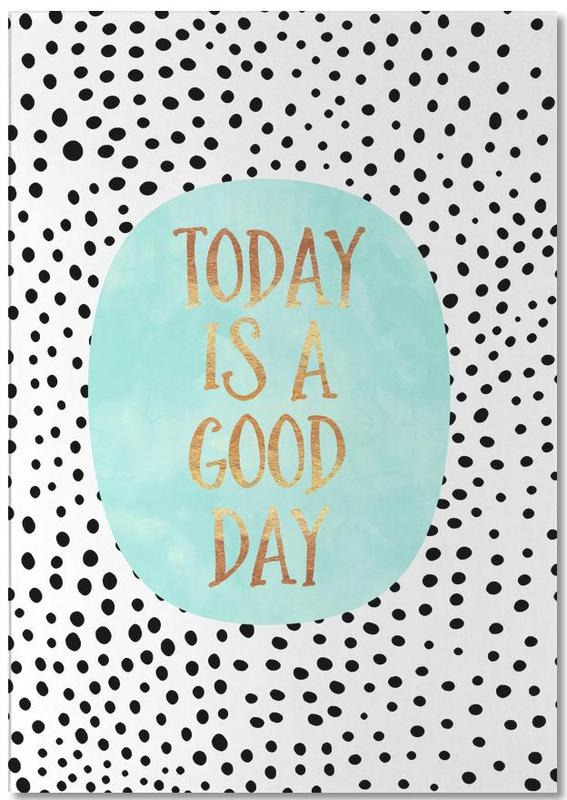 Today Is a Good Day Notepad