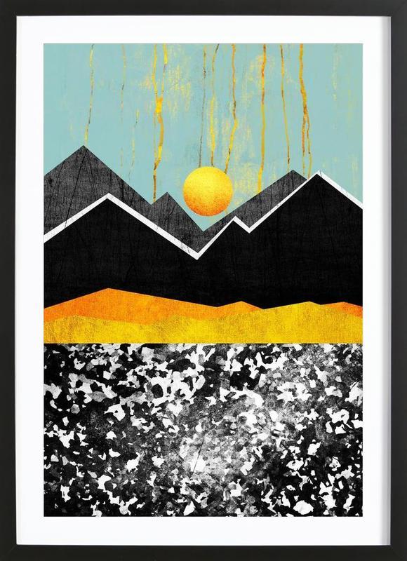 Golden Land Framed Print