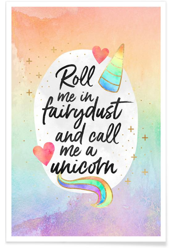 Congratulations, Motivational, Roll Me in Fairydust Poster