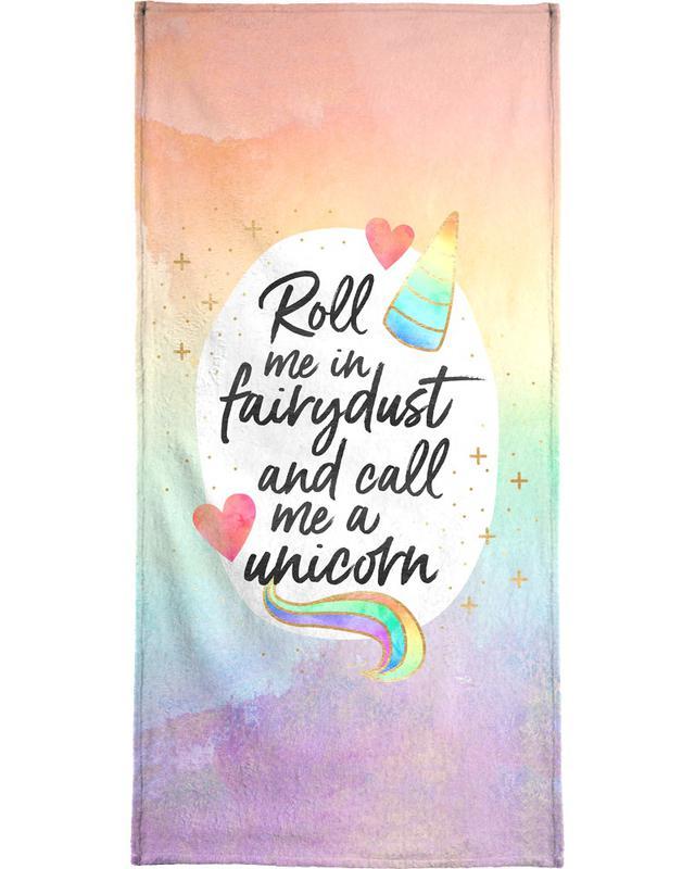 Roll Me in Fairydust Bath Towel