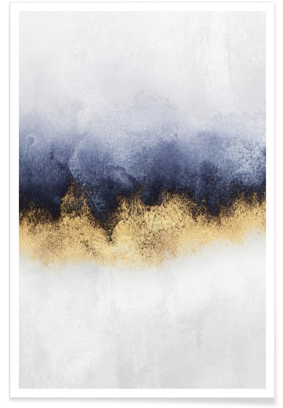 Abstracte landschappen, Sky poster
