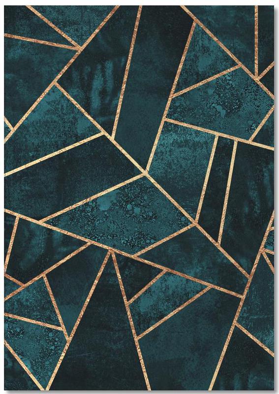 Patronen, Deep Teal Stone Notebook