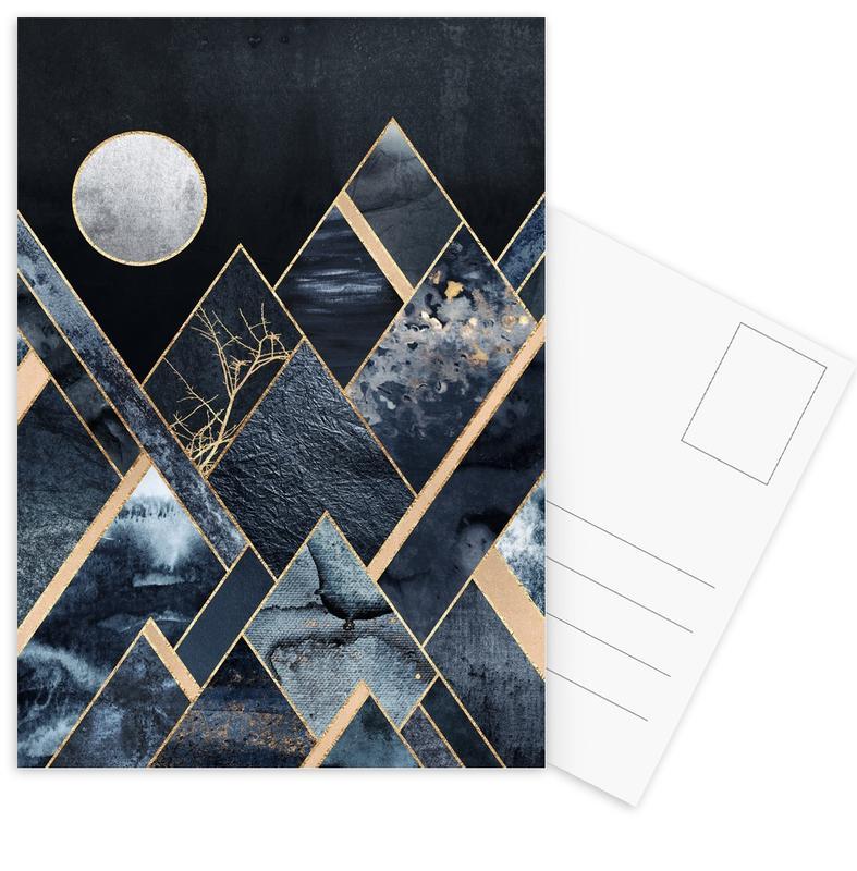 Stormy Mountains -Postkartenset