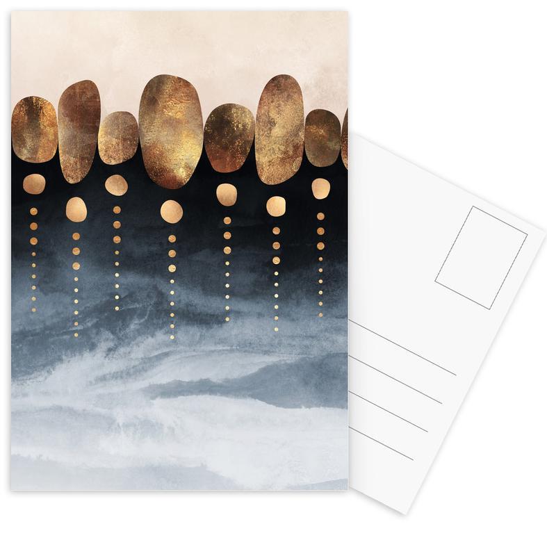 Natural Abstraction -Postkartenset