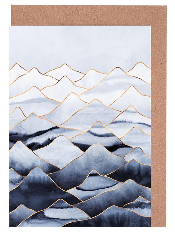 Mountains 1 -Grußkarten-Set