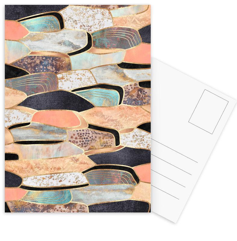 Pretty Stone 1 -Postkartenset