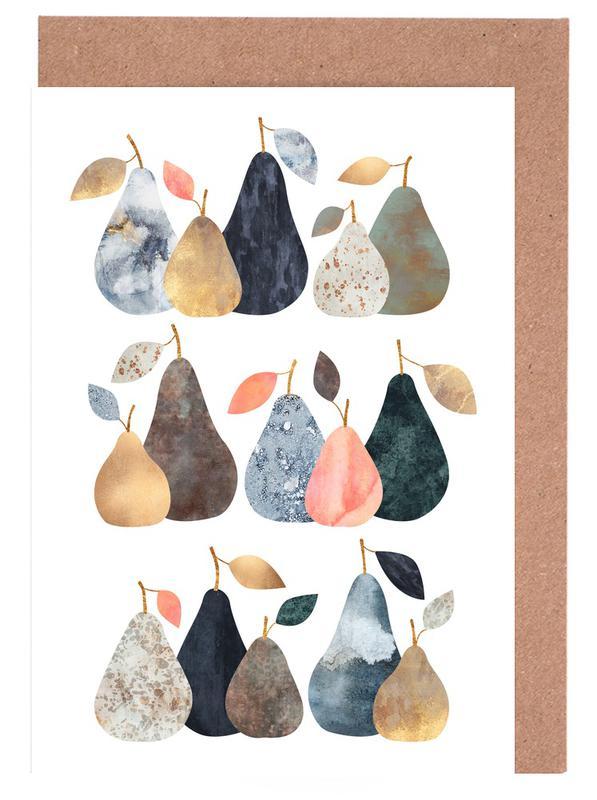 Pears Greeting Card Set