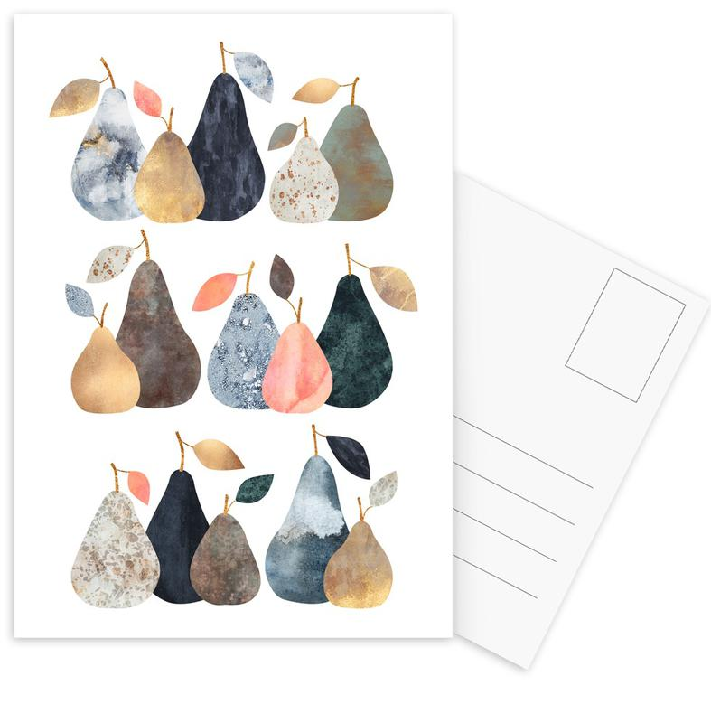 Pears -Postkartenset